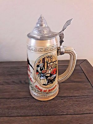 Budweiser Collector's Series Anheuser Busch Inc. - King of Beers Lidded Stein