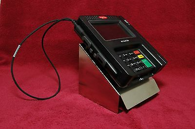 Credit Card Machine Stand - For Ingenico iSC 250 Terminal  USA MADE stainless