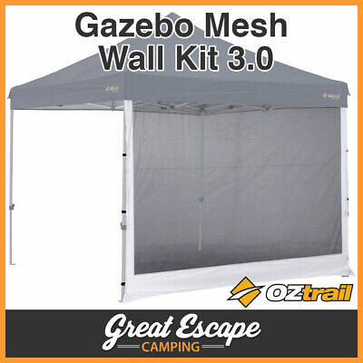 1 x OZTRAIL GAZEBO MESH SIDE WALL FOR 3 x 3m DELUXE AND STANDARD GAZEBO