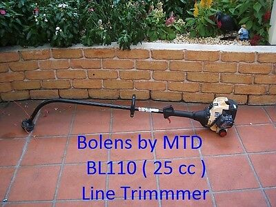 Line Trimmer Boles By MTD BL 110 line trimmer   2 stroke 25 cc
