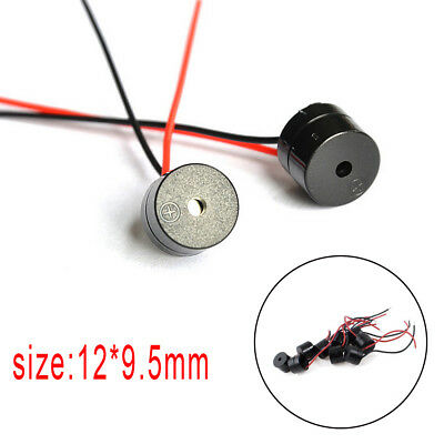 10PCS DC 12V Wired Connector Active Electronic Buzzer 85dB Hot Sale