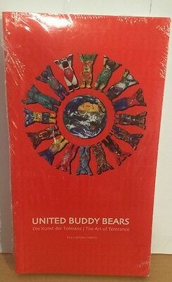 United Buddy Bear Book, Brand New In Original Wrap, Paper Back, Very Rare