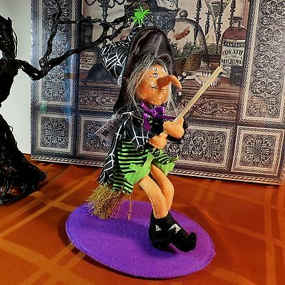 """Annalee Halloween 7"""" Flying Witch - #301612 - Nwt- 2012 - Htf - Whimsical"""
