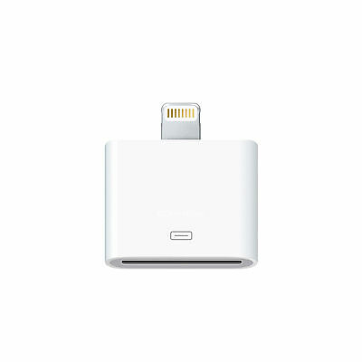 100%CE Approved Lightning to 30-pin Adapter for iPhone iPad iPod White MD823ZM/A
