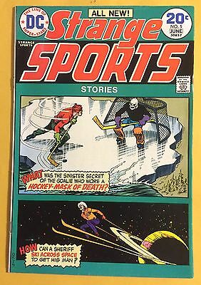 1974 DC: Strange Sports Stories Comic #5  Unread