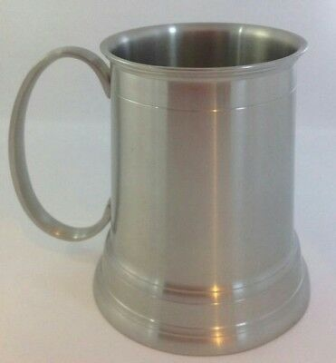 PEWTER TANKARD PLAIN 550ml - SPECIAL OCCASSION / engravable Brand New Boxed
