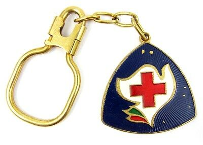 9th Congress of the Bulgarian Red Cross 1987 Keychain