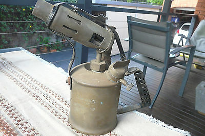 "Original Australian Made ""Companion"" Blowtorch by Max Sievert of Sweden"