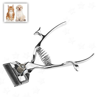 Professional Animal Grooming Kit Pet Cat Dog Hair Trimmer Hand Clippers Shaver