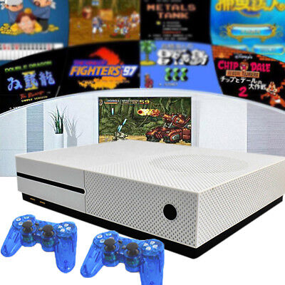 Retro Game Console Built-in 600 Games TV Movie HDMI Output Video + 2 Joysticks