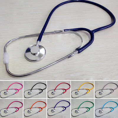 Professional Single Head Stethoscope Medical EMT Nurse Doctor Vet Student Adult