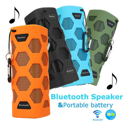 Portable Mini Wireless Bluetooth Speaker Mobile Power Stereo NFC Outdoor Sport
