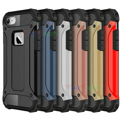For iPhone 5S 6S 7 8 Plus Ultimate Armor Heavy Duty Hybrid Shockproof Case Cover