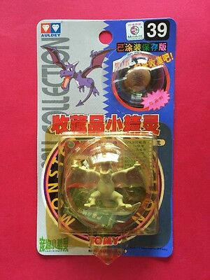 Tomy Auldey Pokemon #39 AERODACTYL Figure With Fossil About 2 Inches Tall 1998