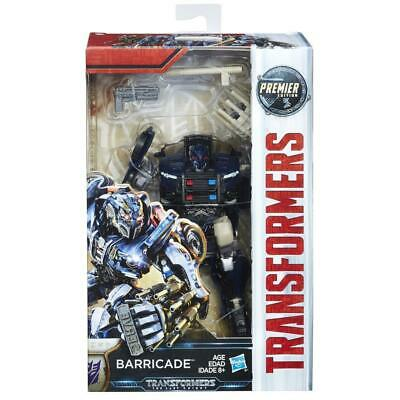 NEW! Hasbro Transformers: The Last Knight Premier Edition Deluxe Barricade