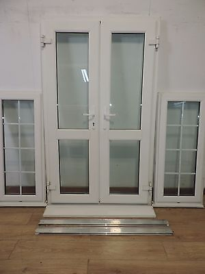 Double glazed french doors picclick uk for Double open french doors
