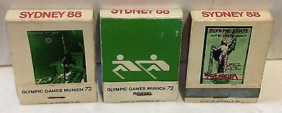 Support The N.S.W. Olympic Fund Matchbooks.