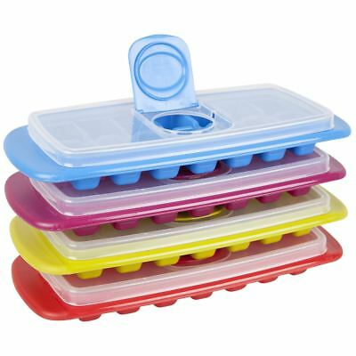 Joie Ice Cube Freezer Tray with Lid Spill Proof