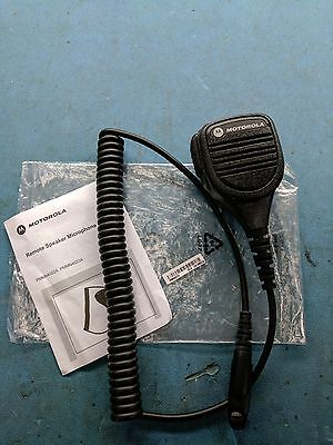Motorola PMMN4022A Remote Speaker Microphone with 3.5mm jack for EX500, EX600