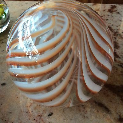 Super size Art Glass Paperweight