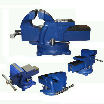 4, 5, 6 & 8 Inch Jaw Bench Vise Engineer Workshop Clamp Swivel Base Vice Tool