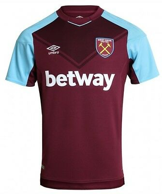 West Ham Home Shirt 2017-2018 BNWT Fast Delivery