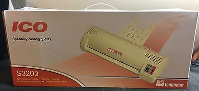 Brand New ICO A3 Laminator Model # S3203 Speciality Casting Quality