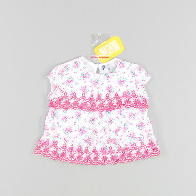 Blusa sin mangas color Rosa marca Freestyle 6 Meses