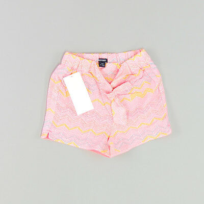 Shorts color Rosa marca Kiabi 9 Meses
