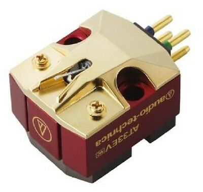 AUDIO TECHNICA AT 33 EV MC-Tonabnehmer Moving Coil Cartridge, NEU+OVP