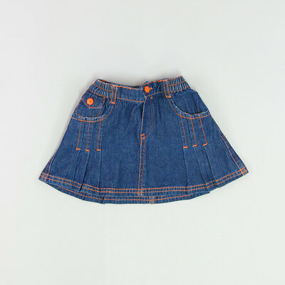 Falda color Denim oscuro marca Pick Ouic 12 Meses