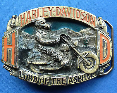 Original 1992 Harley Davidson Belt Buckle H414