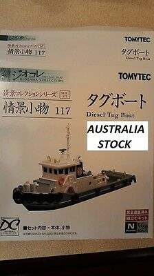 TOMYTEC N Scale 1/150 The Diorama Collection 117 : Diesel Tug Boat