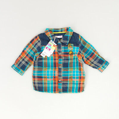 Camisa color Verde marca DP…am 6 Meses