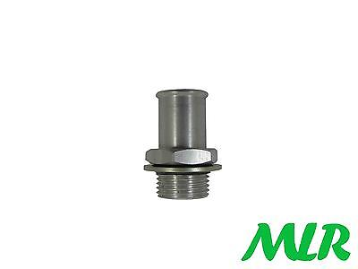 Sierra Cosworth Bosch 044 Fuel Pump Inlet Fitting Union For 15Mm Id Hose Pipe Zi