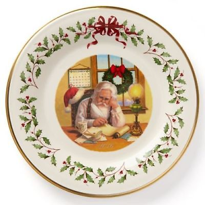 New Lenox Annual 2016 Holiday Collectors Plate (26th Edition)