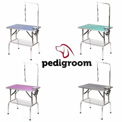 Dog Grooming Table With Arm by Pedigroom Mobile Portable Professional Show