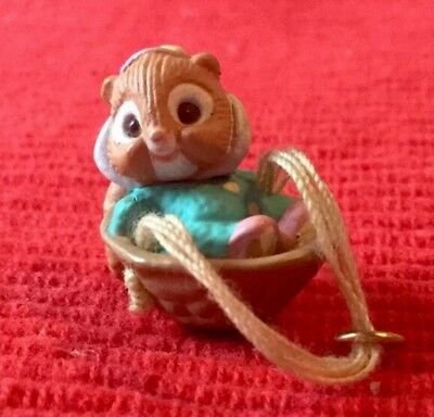 Hallmark 1991 Woodland Babies Miniature Ornament