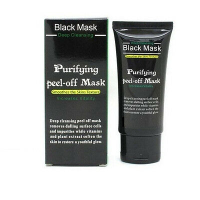 Blackhead Remover Deep Cleansing Purifying Peel Off Black Mud Acne Face Mask