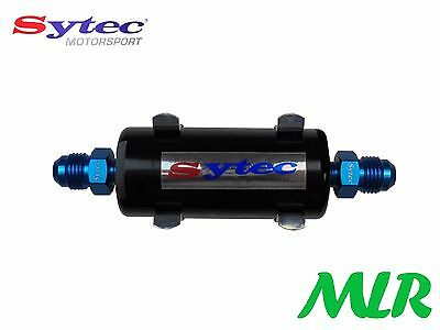Fse Sytec Motorsport Mini Bullet Fuel Filter -6Jic Fittings Carb / Injection Bbi