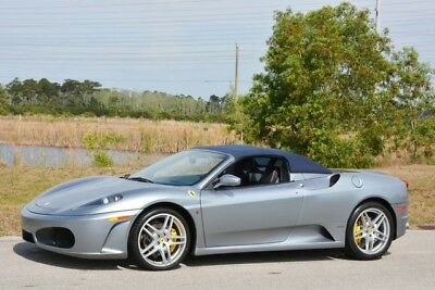 2007 Ferrari 430 Spider Convertible 2-Door 2007 F430 SPYDER - F1- NEW CLUTCH - 1 OWNER - FULLY SERVICED - RARE COLORS