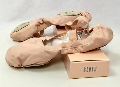 Bloch Pro Elastic S0621L Pink Ballet Slippers Shoes, Size 8 B (Narrow), New