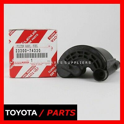 genuine lexus gs300 gs400 gs450 99-03 rx300 fuel filter assembly oem  23300-74330