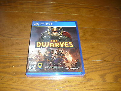 The Dwarves (Sony PlayStation 4, 2016) PS4 - New!