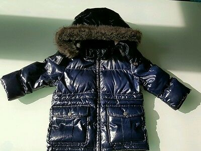 Burberry baby 18 months down puffer jacket