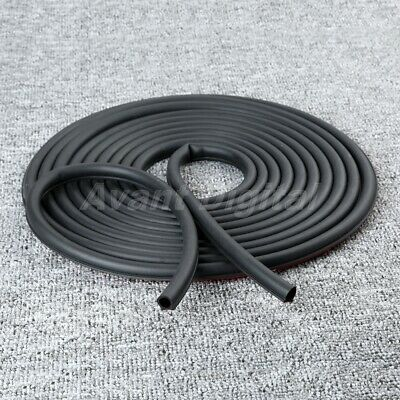 26Ft 8M Universal Small D-shape Car Truck Door Rubber Seal Weather Strip Hollow