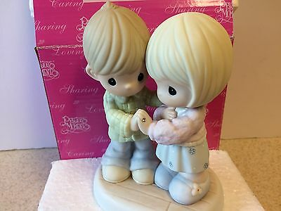 "Precious Moments Porcelain Figurine #620011 ""I Love Thee with an Everlasting Lov"