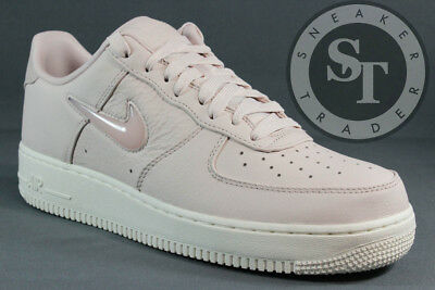 efc60ff5a01 NIKE AIR FORCE 1 One Pretro Prm 941912-600 Jewel Pack Silt Red Sail ...