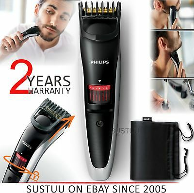 Philips 3000 Series-QT4013/23│Mens Rechargeable Cordless Trimmer│Beard+Mustache