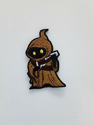 Star Wars Jawa  3.25 Die Cut Embroidered Patch-USA Mailed (SWPA-FC-27)